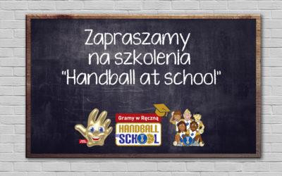 """4-ta edycja """"Handball at School"""" już we wrześniu ! :)"""
